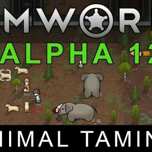 RimWorld Alpha 12 - Animal Taming - YouTube